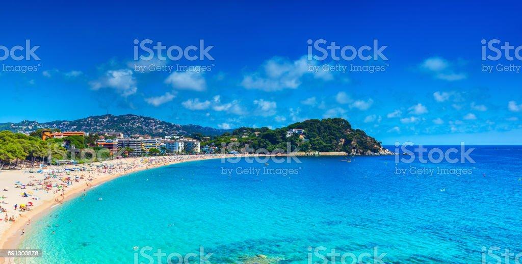 Spain coast stock photo