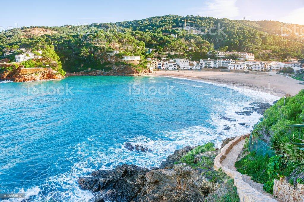 Spain. Costa Brava. La Sera. stock photo