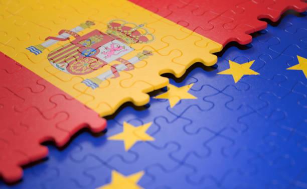 Spanien Fahne der Europäischen Union Puzzle – Foto
