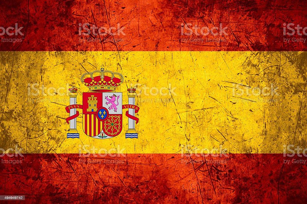 Bandeira Espanha - foto de acervo