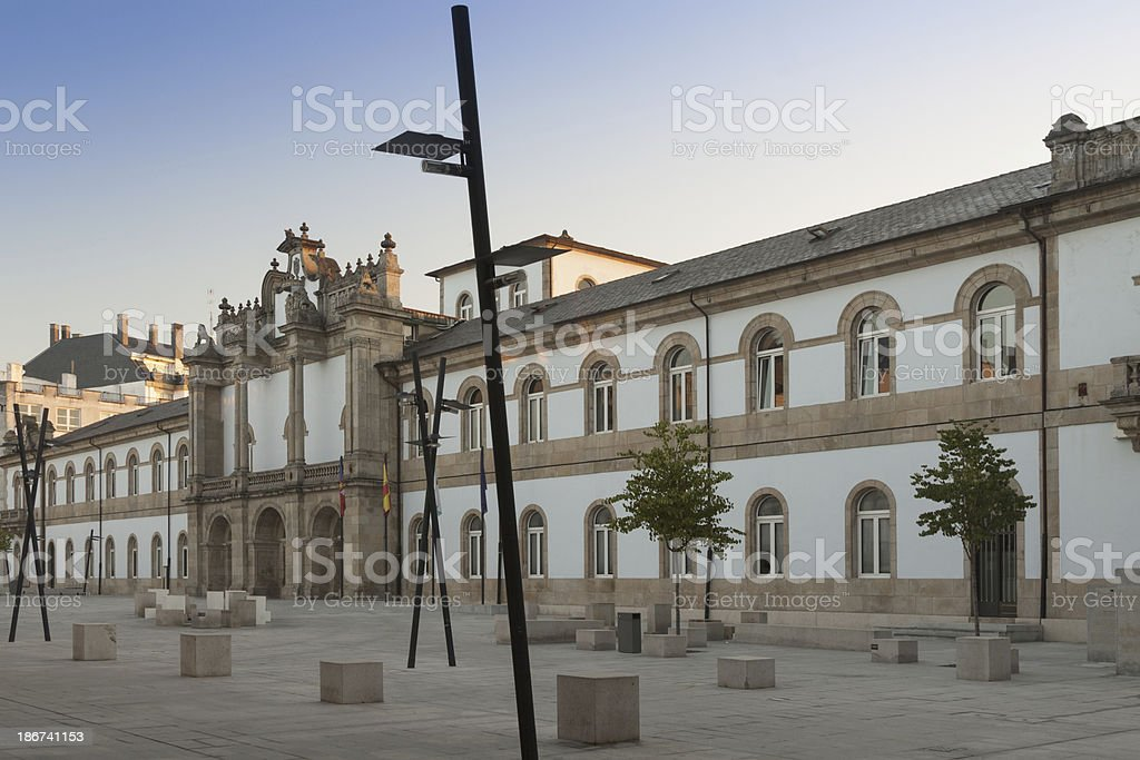 Spain, Galicia, Lugo, City Council stock photo