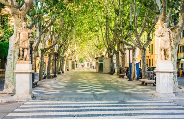Espagne Majorque, avenue rue belle ville La Rambla à Palma de Majorque - Photo