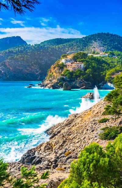 Belle vue sur le littoral à Camp de Mar Majorque Espagne - Photo