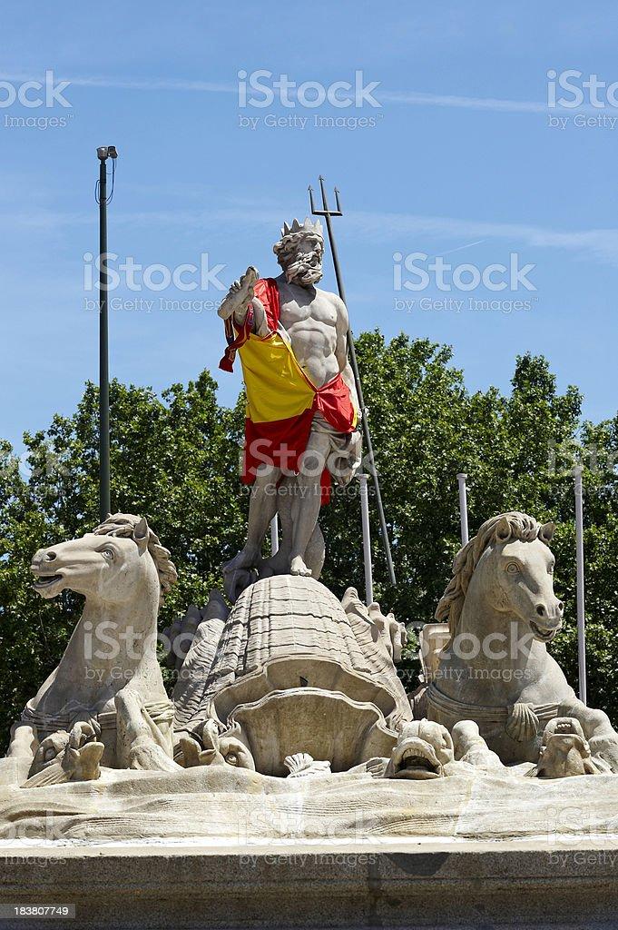 Spain monument. Madrid royalty-free stock photo
