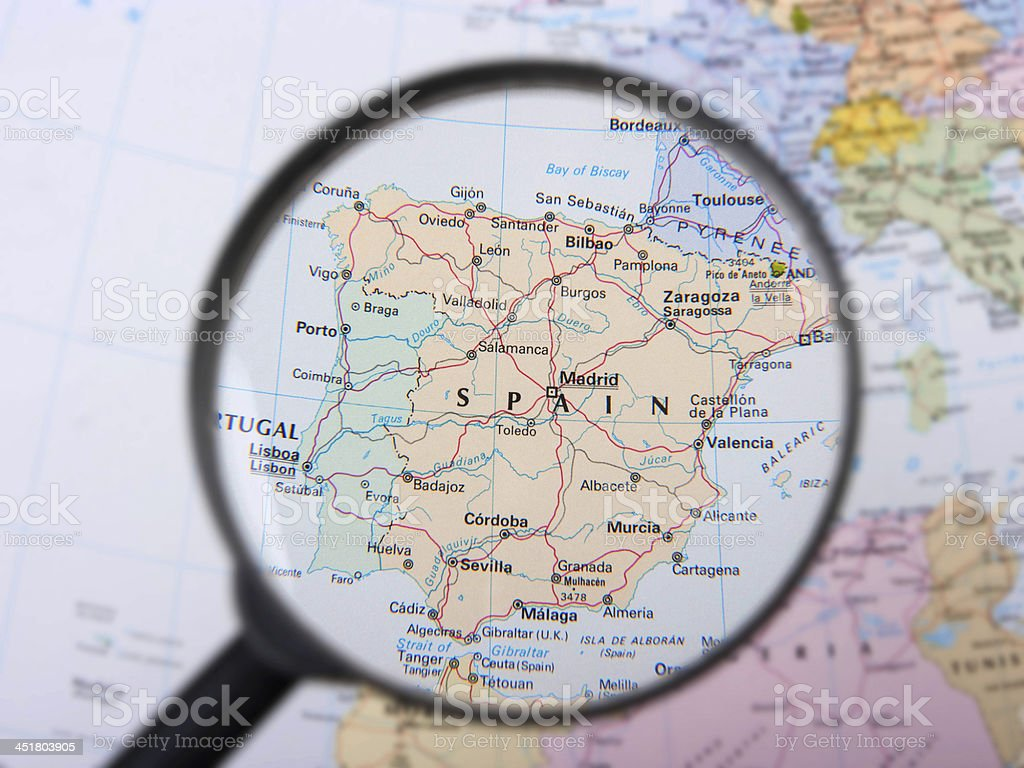 Saragozza Spagna Cartina Geografica.In Spagna Fotografie Stock E Altre Immagini Di Carta Geografica Istock