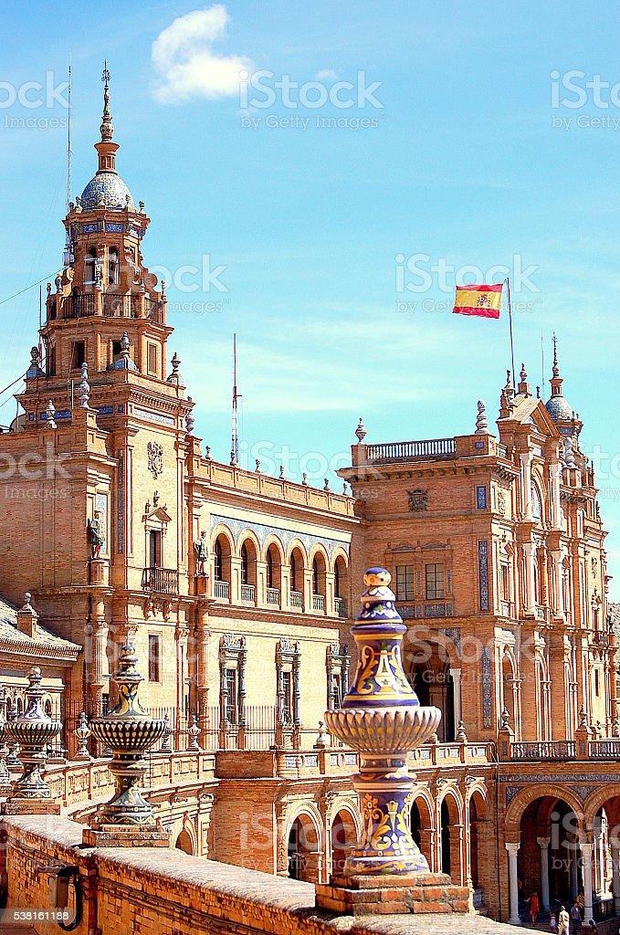 Spain Square 3 stock photo