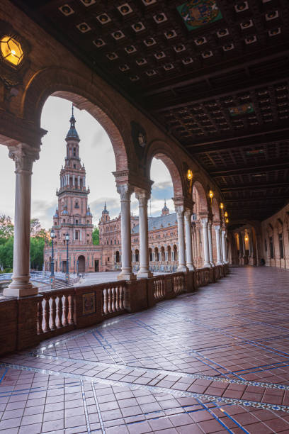 Plaza de España - foto de stock