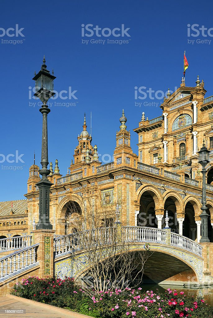 Spain Square royalty-free stock photo