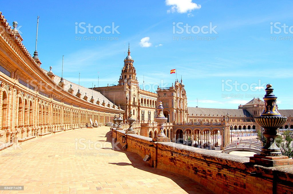Spain Square stock photo