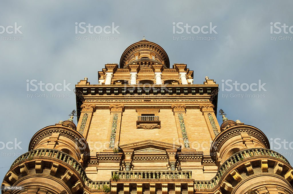 Spain Square tower royalty-free stock photo