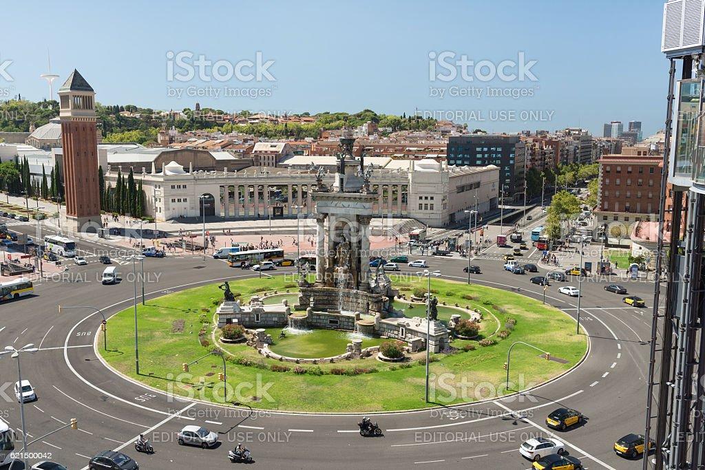 Spain SquareBarcelona  - Spain foto stock royalty-free