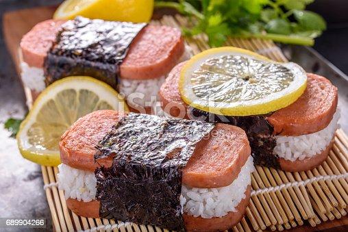 Delicious Spam Musubi