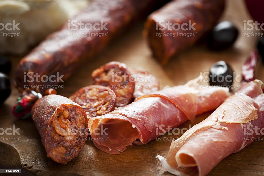 Spanish Appetizer royalty-free stock photo