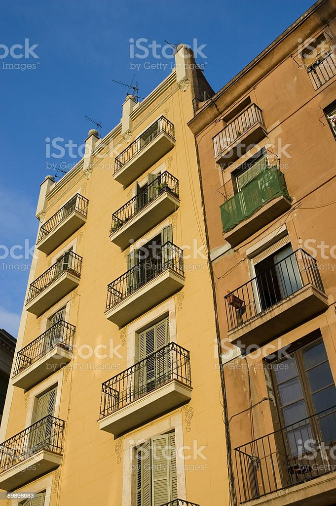 spanish architecture royalty-free stock photo