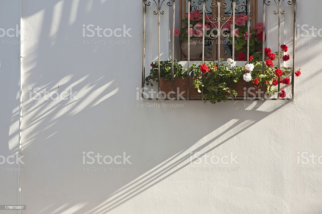 Spanish Balcony royalty-free stock photo