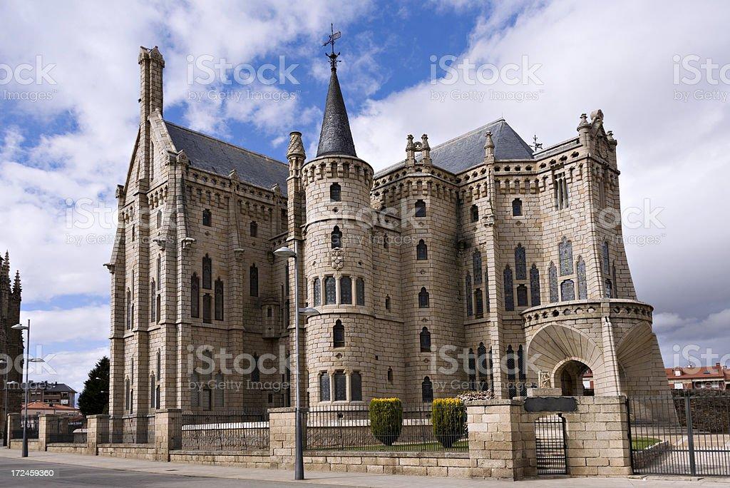 Edificio español, Astorga, Leon. España - foto de stock