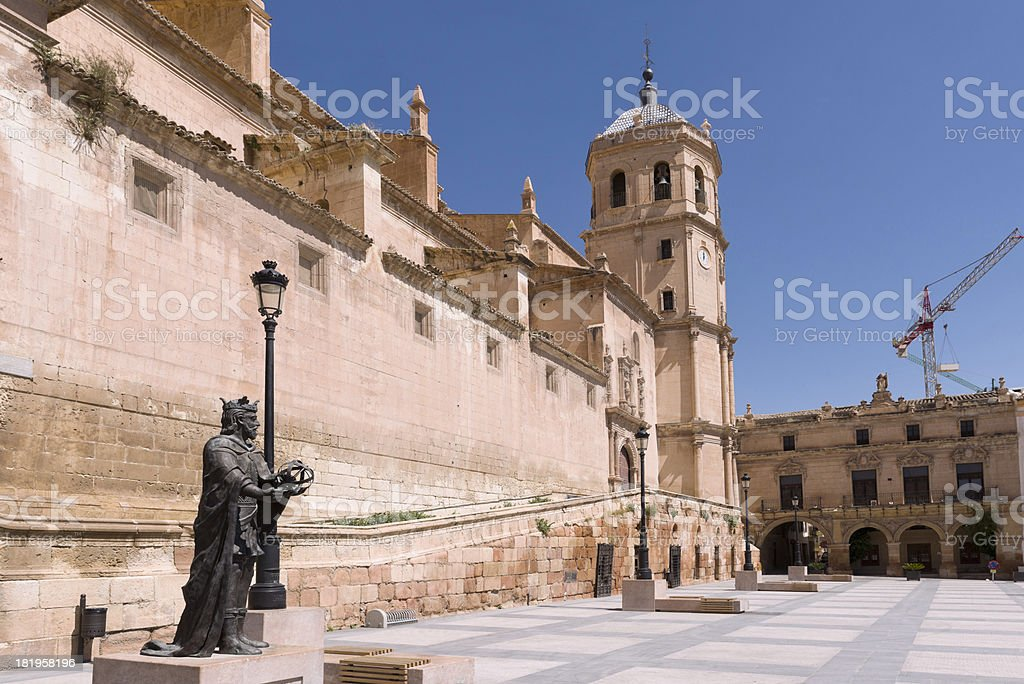 Spanish building, Lorca royalty-free stock photo