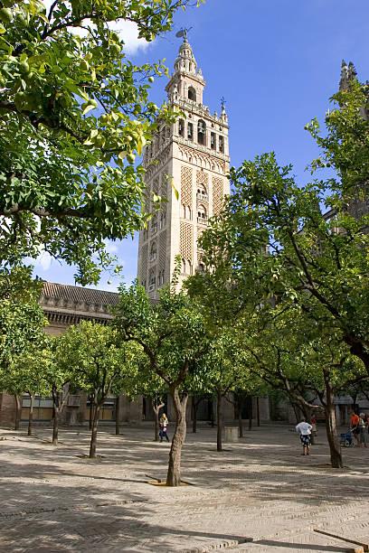 spanish cathedral - double_p stockfoto's en -beelden