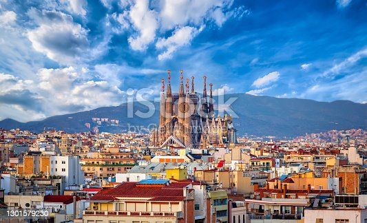 istock Spanish Cities the sacred Barcelona family 1301579230