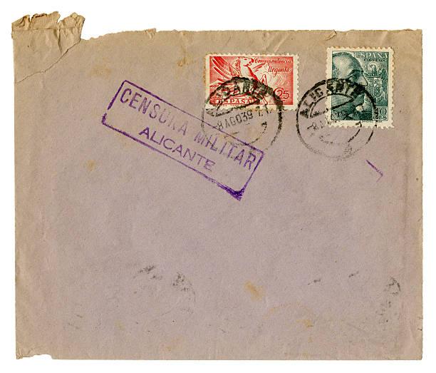 Guerre civile espagnole enveloppe, 1939 - Photo