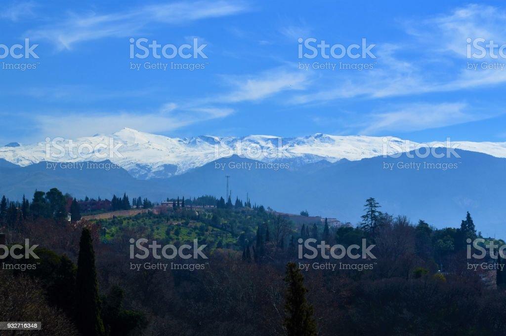 Spanische Landschaft. – Foto