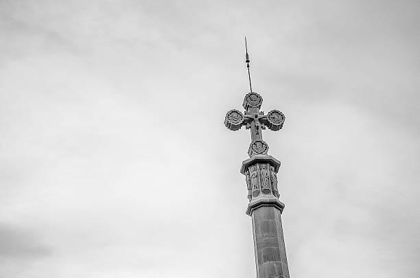 Spanish cross stock photo