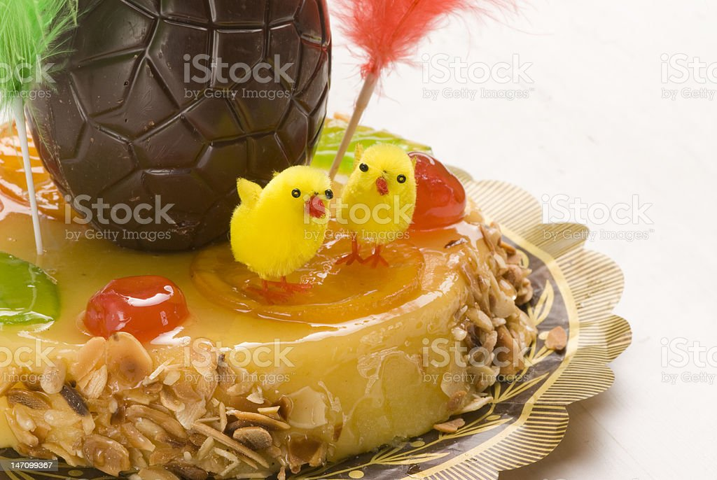 Spanish Cuisine Easter Cake Stock Photo - Download Image Now - iStock