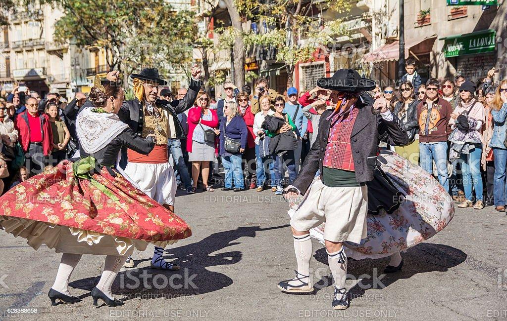 Spanish dancer stock photo