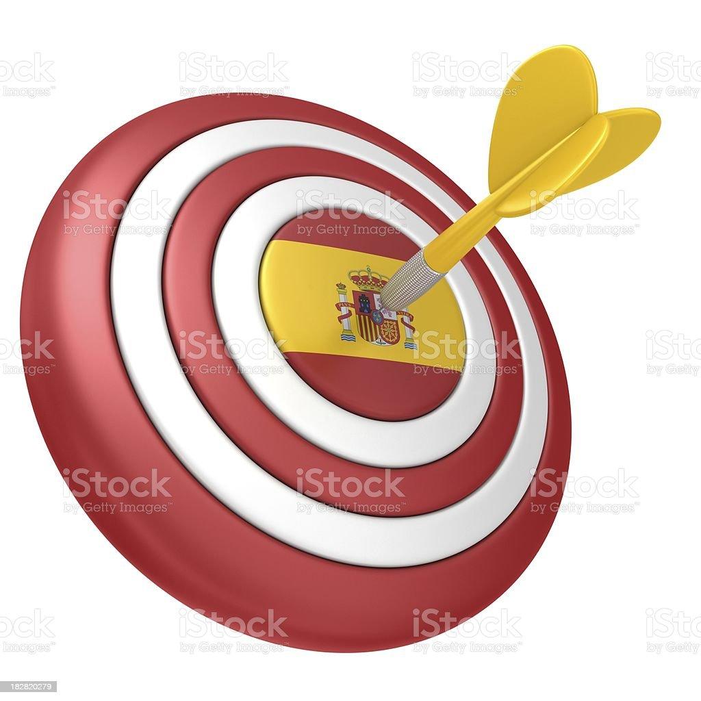 spanish dart royalty-free stock photo