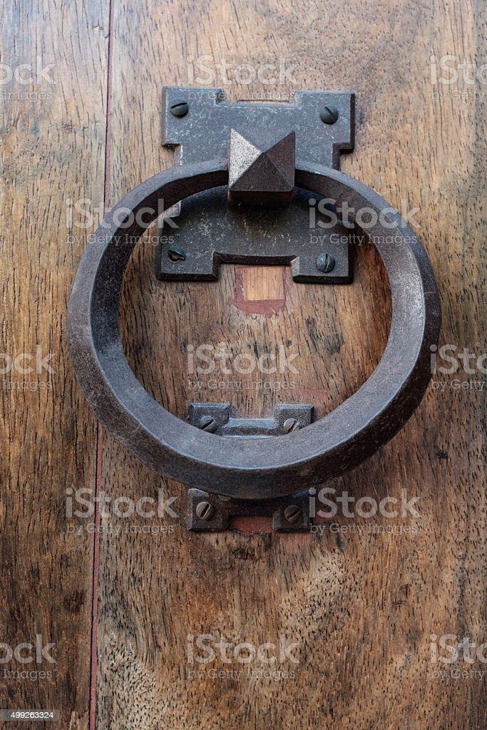 Spanish Door Knocker Royalty Free Stock Photo