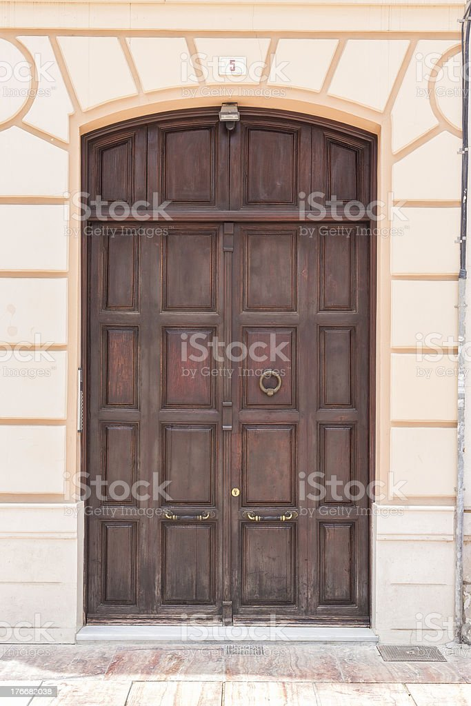 Spanish Door royalty-free stock photo
