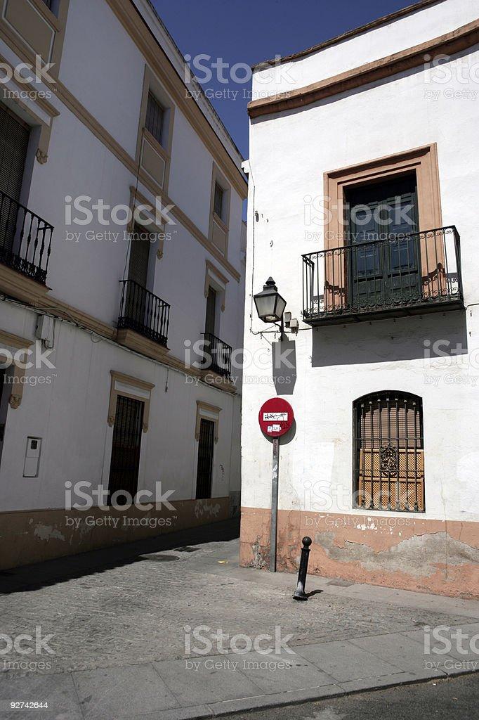 Spanische Traum Town Square Lizenzfreies stock-foto