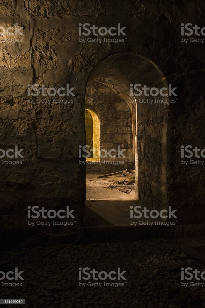 Spanish Dungeon stock photo