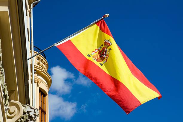 spanish flag - andalusian flag fotografías e imágenes de stock