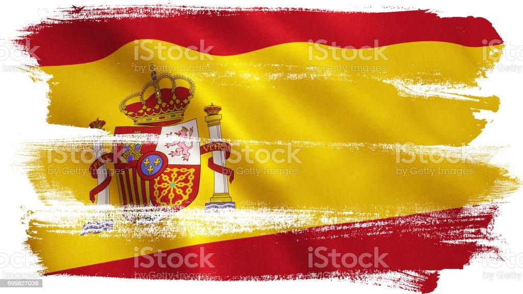 Bandeira Espanhola - foto de acervo