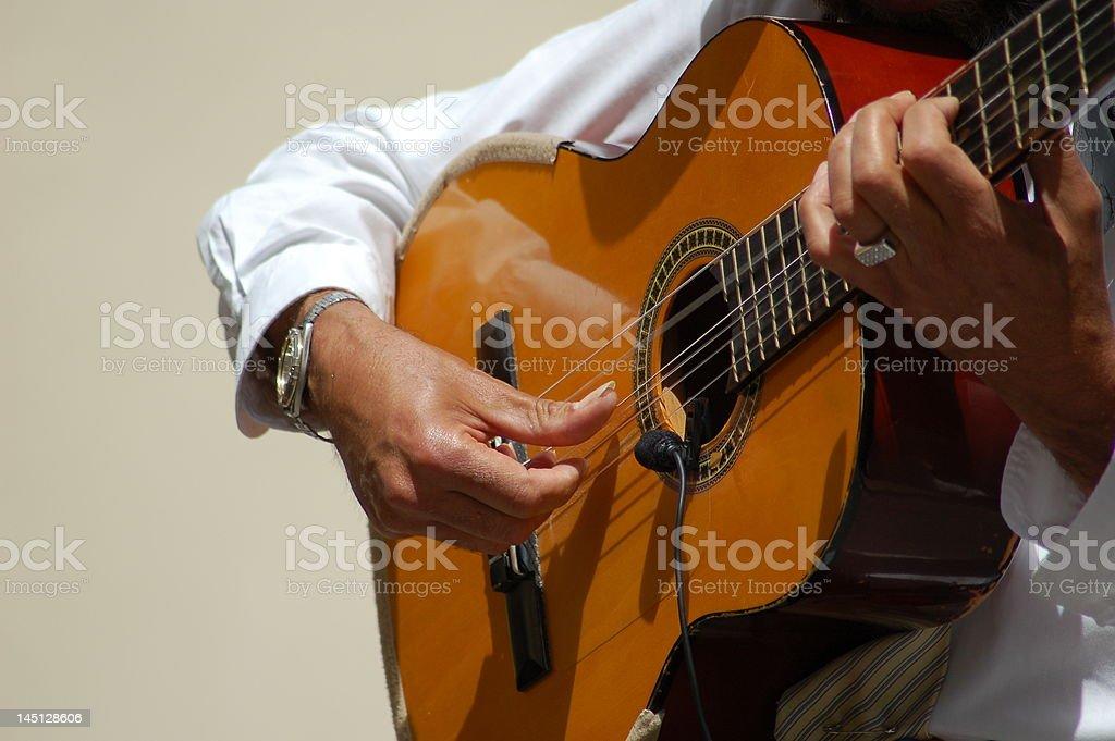 Spanish Guitar stock photo