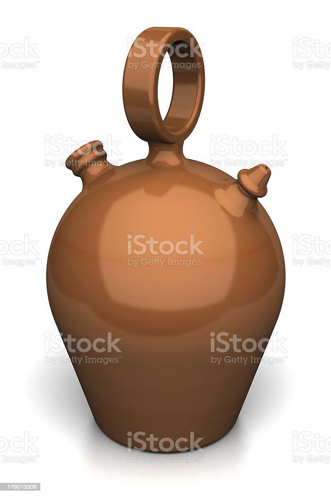 Spanish jug royalty-free stock photo