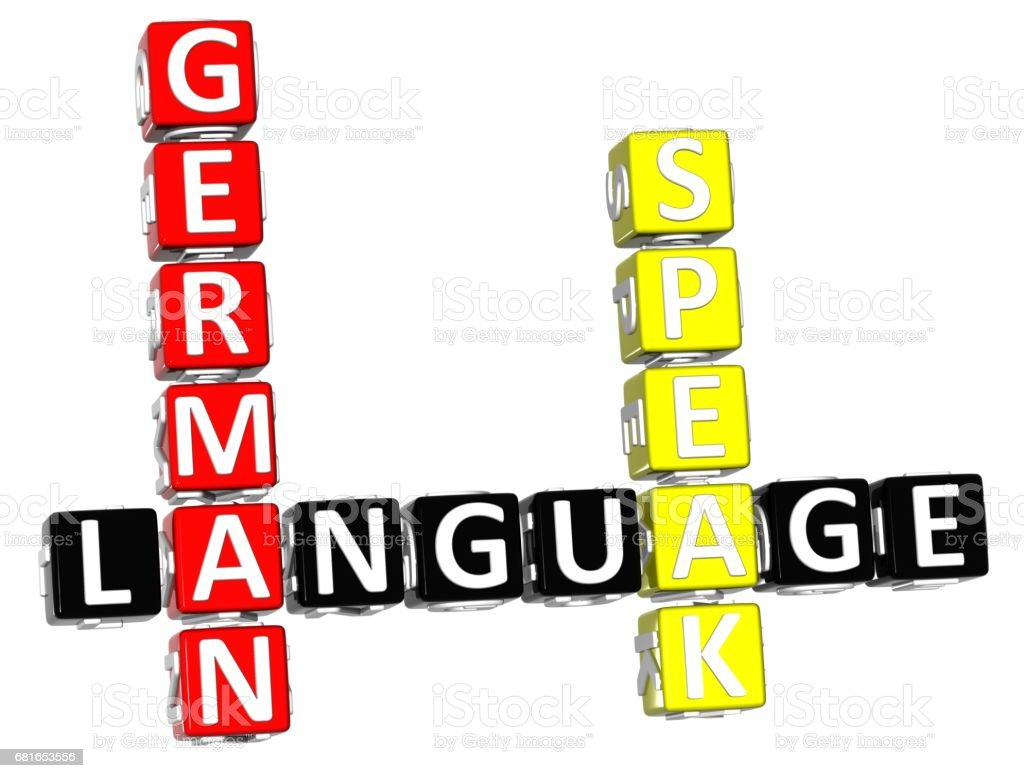 3d Spanish Language Crossword Stock Photo More Pictures Of