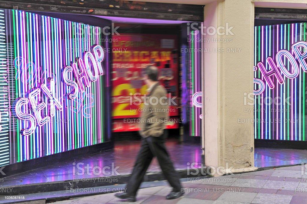 Sex shop spain
