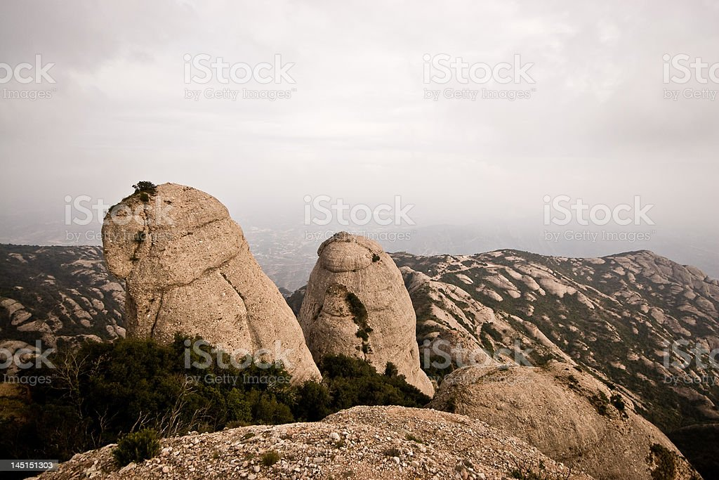 Spanish Mountaintop royalty-free stock photo