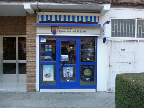 Spanish national lottery outlet