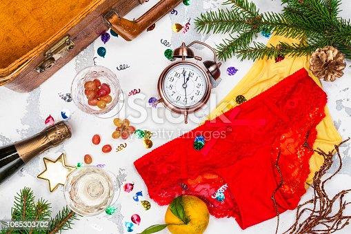 istock Spanish New Year traditions 1065303702