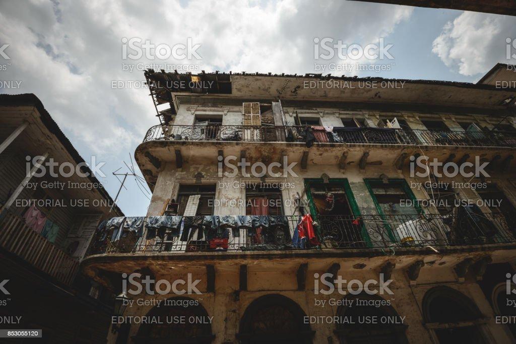 Spanish old quarter stock photo