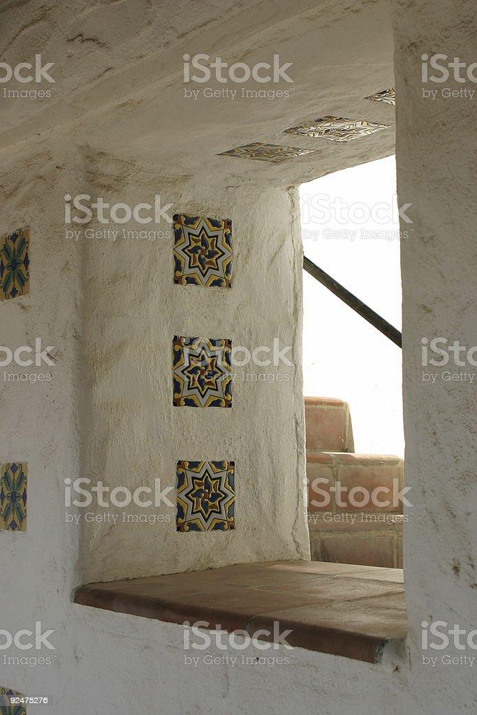 Spanish Oriented Window royalty-free stock photo