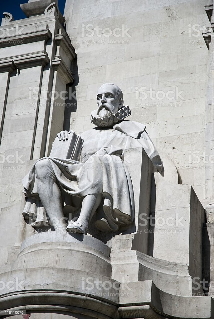 Spanish poet and playwright royalty-free stock photo