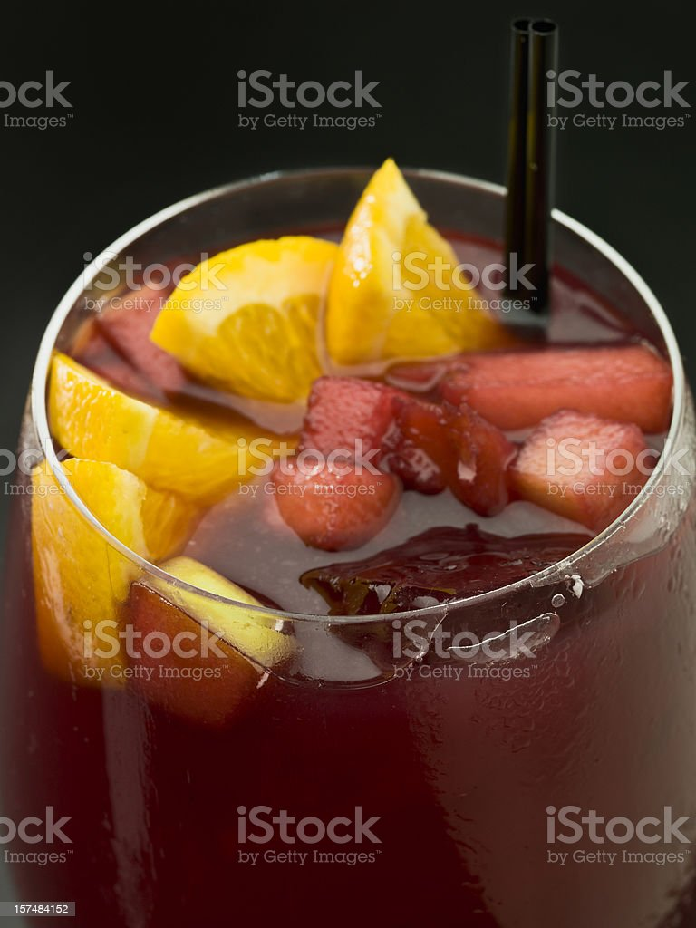 Spanish Sangria royalty-free stock photo
