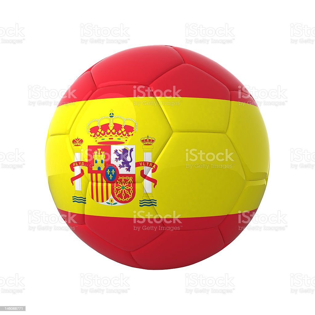 Spanish soccer. royalty-free stock photo