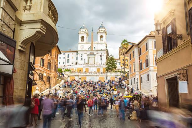 Spanische Treppe in Rom – Foto