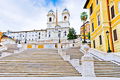 istock Spanish Steps on the Piazza di Spagna in Rome. 917185908