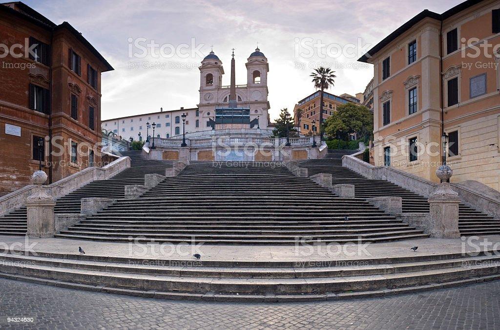 Spanish Steps, Piazza di Spagna, Rome royalty-free stock photo